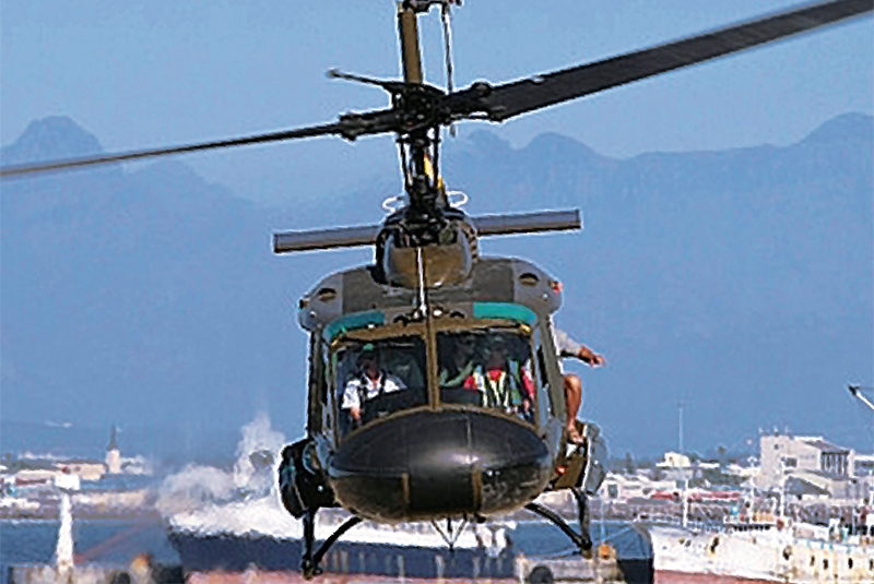 Waterfront Helicopter Tours | Tours | Combat