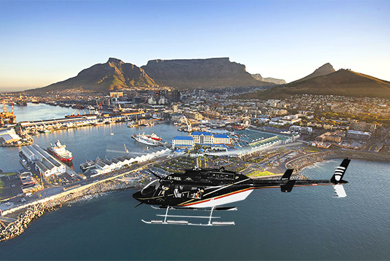 Cape Town Helicopter Sport Waterfront Trip Flight The Hopper