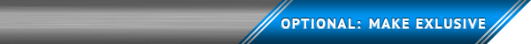 Make flight exclusive banner