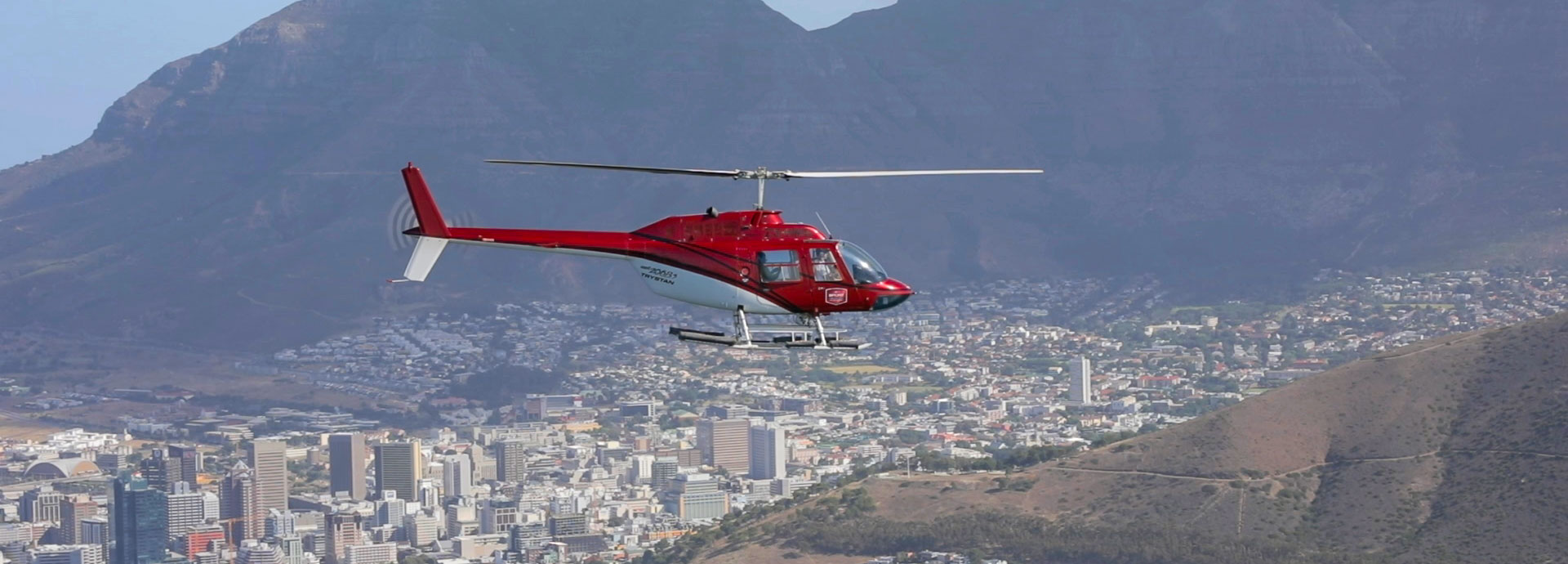 Waterfront Helicopter Tours Video Background