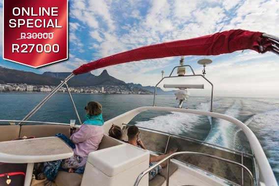 Grand Clifton Luxury Private Yacht Cruise Cape Town