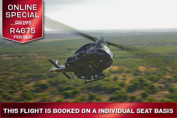 Waterfront Helicopters Huey Combat flight