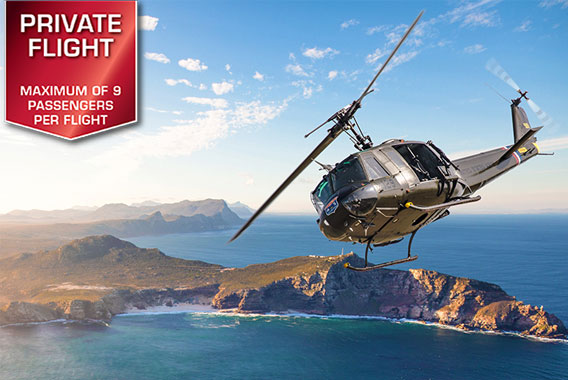 Watefront Helicopters | Adventure Flights | Cape Point Flight