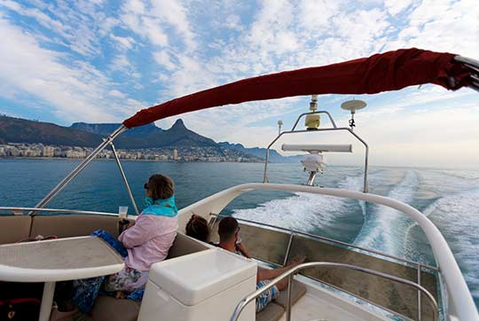 grand Clifton yacht charter cape town