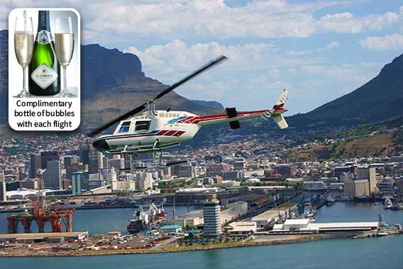 Robben island hopper Helicopter Tour
